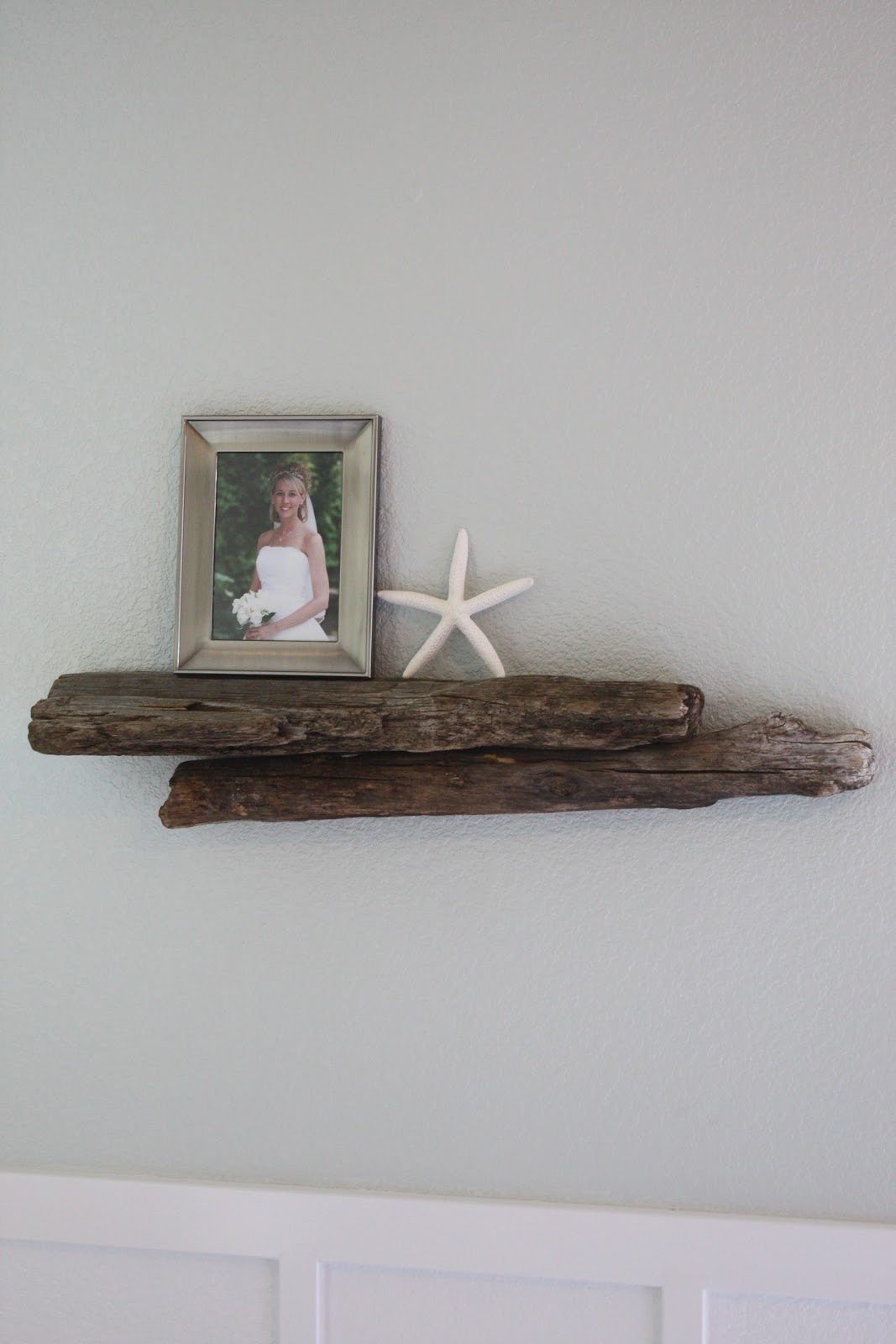 growing up gardner driftwood shelf master bedroom diy