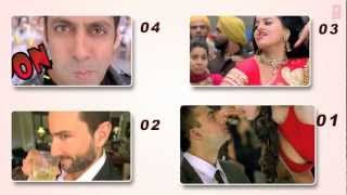 Bollywood TOP 20 Most Viewed Songs in 2012 Year