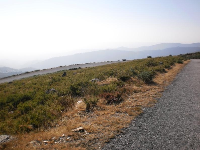 Vista para o mar da Serra da Freita