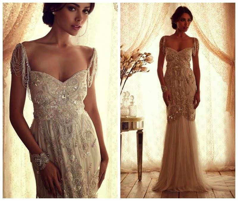 Vestidos de novia estilo romantico con encajes