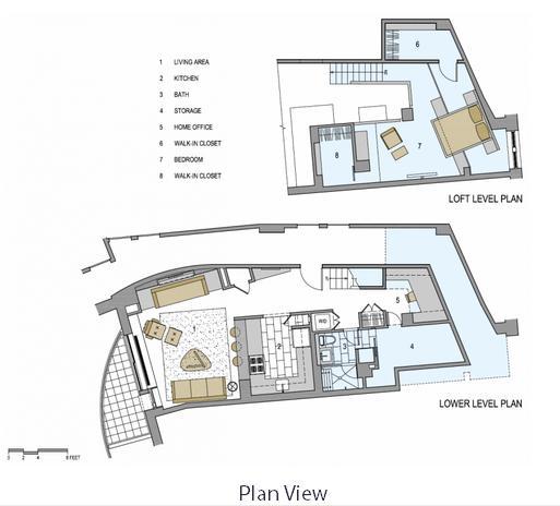 Ristrutturazione di un loft a new york arredamento facile for Piani di costruzione loft