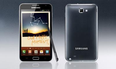 Samsung Galaxy Note ominaisuudet