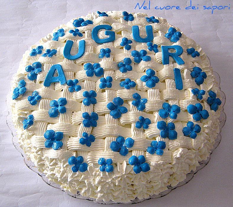 Nel cuore dei sapori torte con decorazione a canestro e for Una decorazione e formata da cinque rombi simili