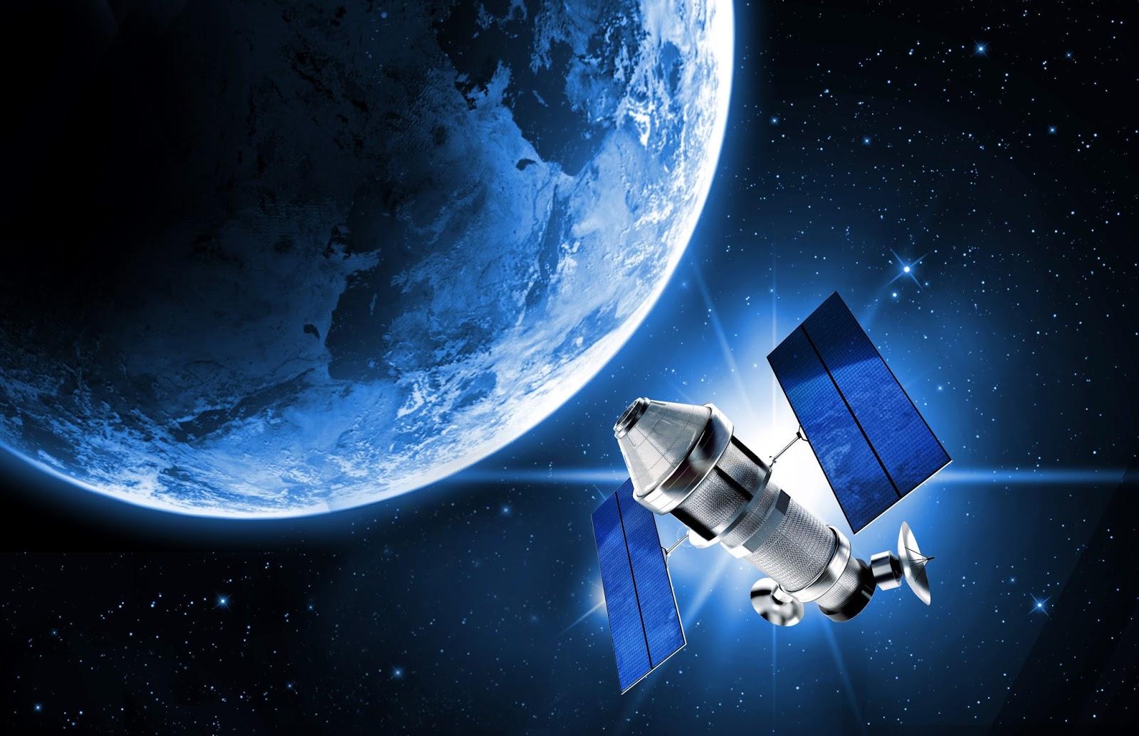 искусственный спутники земли фото