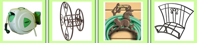 CLICK HERE FOR HOSE REELS, HOLDERS, HIDERS & POTS