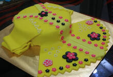 CAKE - FONDANT KEBAYA