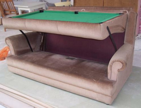 g1 transparent pool table