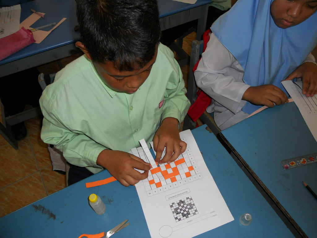 anyaman kelarai bunga mempalas alatan bahan tapak anyaman kertas ...
