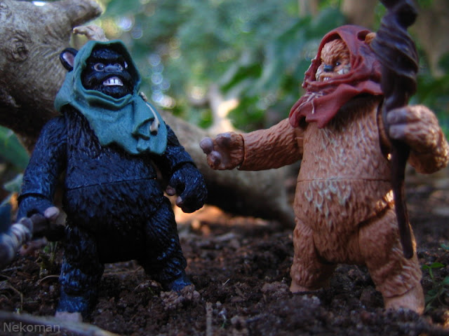 Star Wars Ewoks Return of the Jedi Widdle Wunka K-mart scouts Wicket Kenner Hasbro Modern TVC the vintage collection exclusives