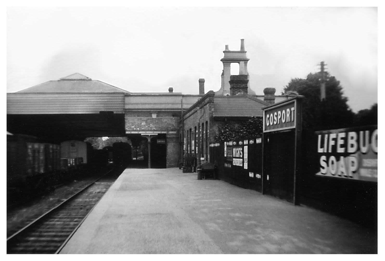 Pre War station platforms