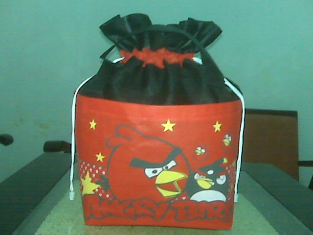 Tas Spunbond Angry Bird