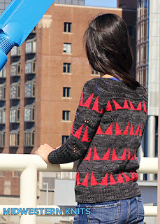 Grand Rapids Furniture City Sweater, back view