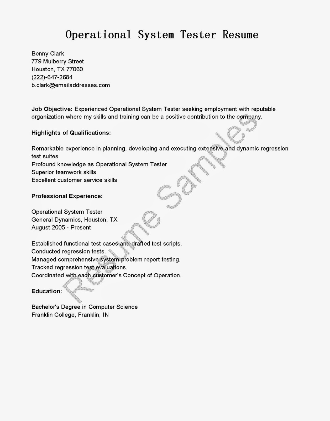 system tester resume sales tester 28 images car tester
