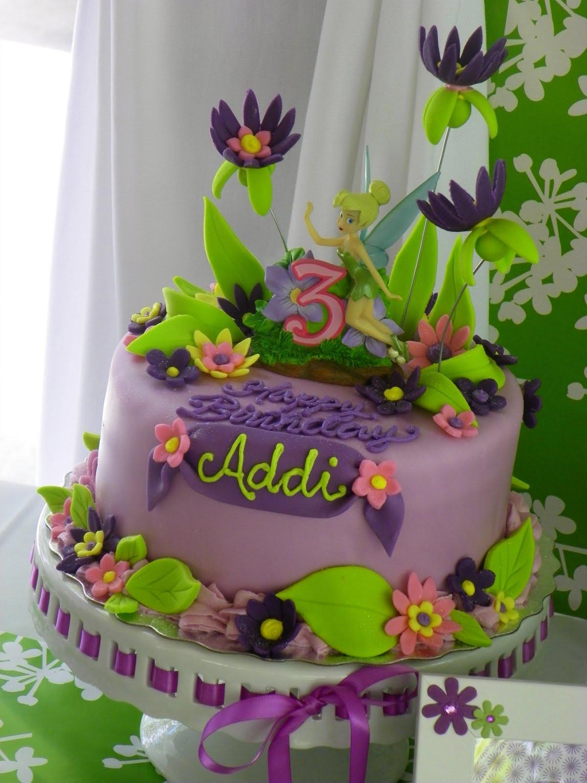 Plumeria Cake Studio Tinkerbell Twin Birthday Cakes