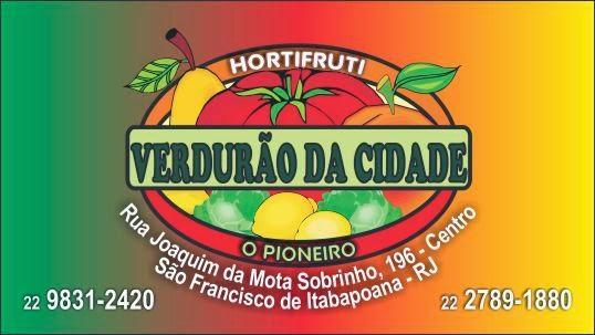 HORTFRUT VERDURÃO DA CIDADE