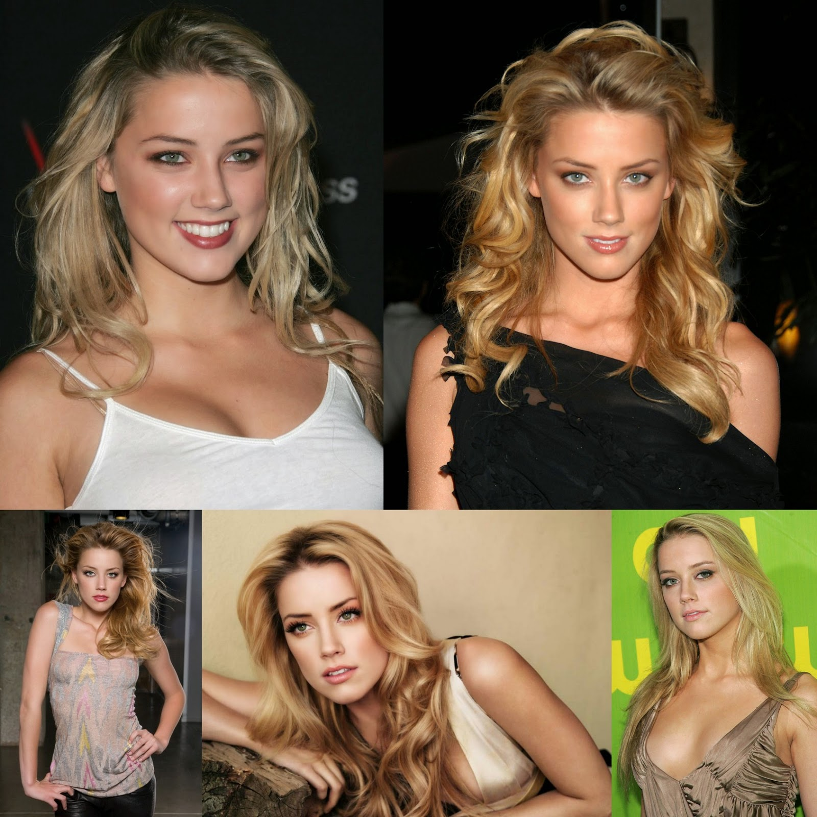 Amber Heard Hot Photos