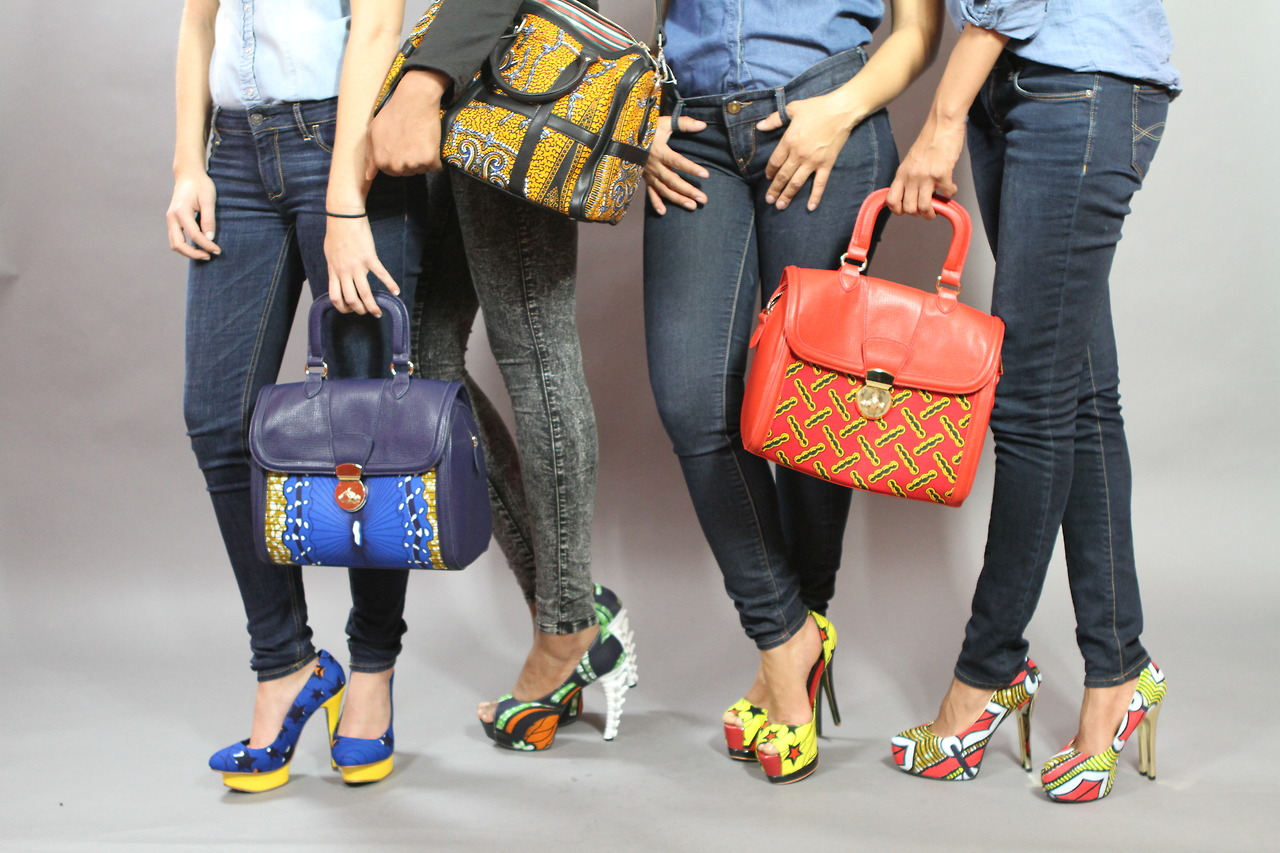 Latest Ankara handbags