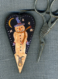 """Flaky Night"" Scissor Fob - $11.50"