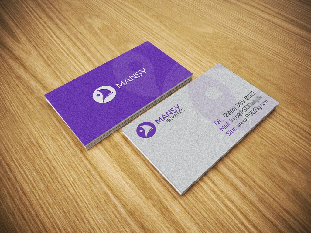 Business Card Mockup Free PSD PSD Fly