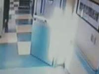 فيديو ملاك حارس مستشفى