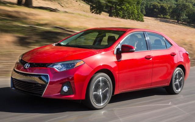 Novo Toyota Corolla 2014 - frente