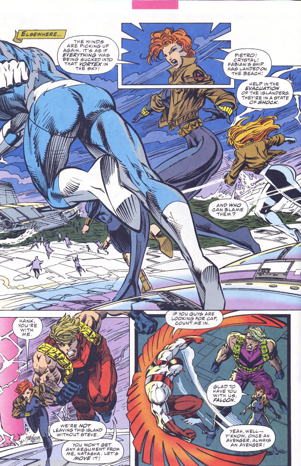 Captain America (1968) Issue #441b #395 - English 9