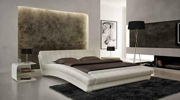 16 gambar desain tempat tidur modern mewah