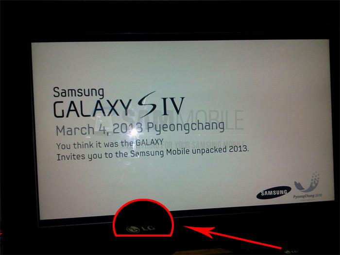 Do you want some more reasons why this Galaxy S4 invitation is fake