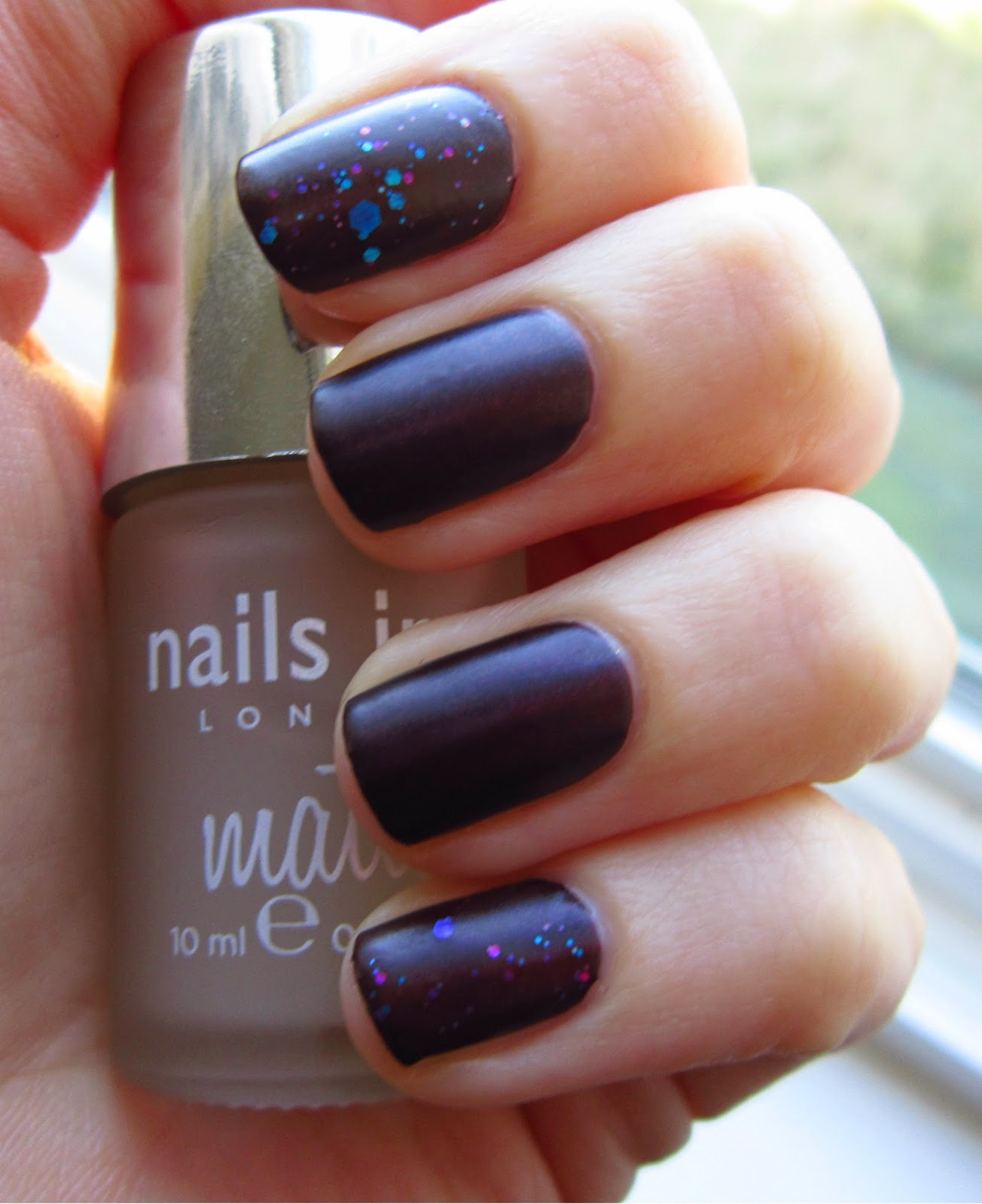 Nails Inc. Westminster Bridge Matte Top Coat