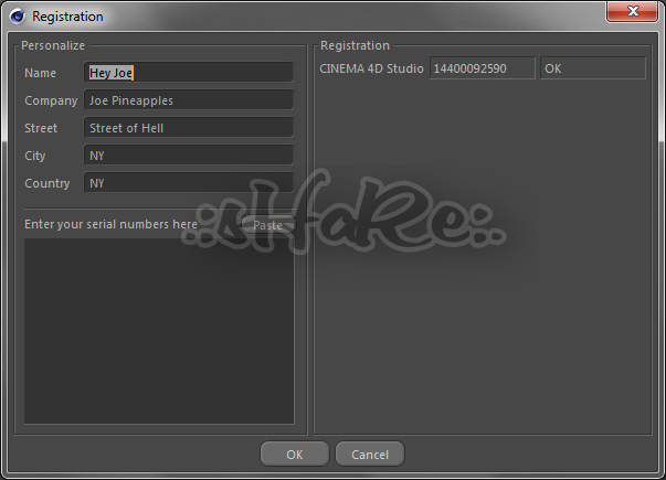 serial number cinema 4d r16 studio