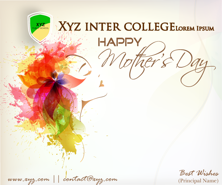 Freebie Mothers Day Flyer Template Design: Creative Design: Mother's Day Flyer