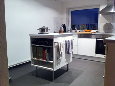 Besta Island for kitchen