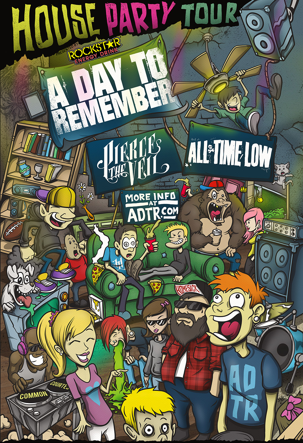 ADTR house party tour