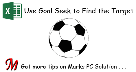 Using Goal Seek in Excel