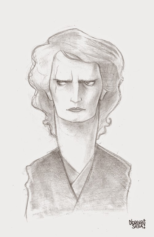 Anakin Skywalker by Lorenzo Sabia