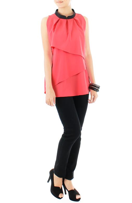 Sugar Cascade Top – Pink