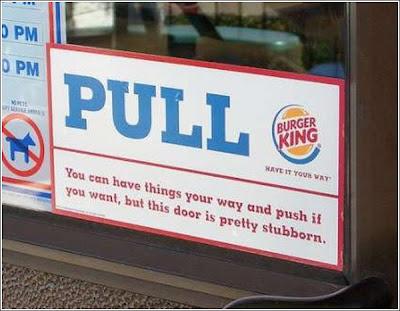 funny burger king sign