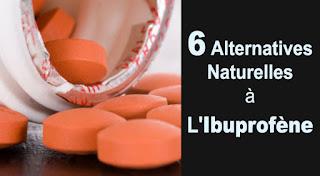 6 alternatives efficaces et naturelles aux anti-inflammatoires Ibuprofene