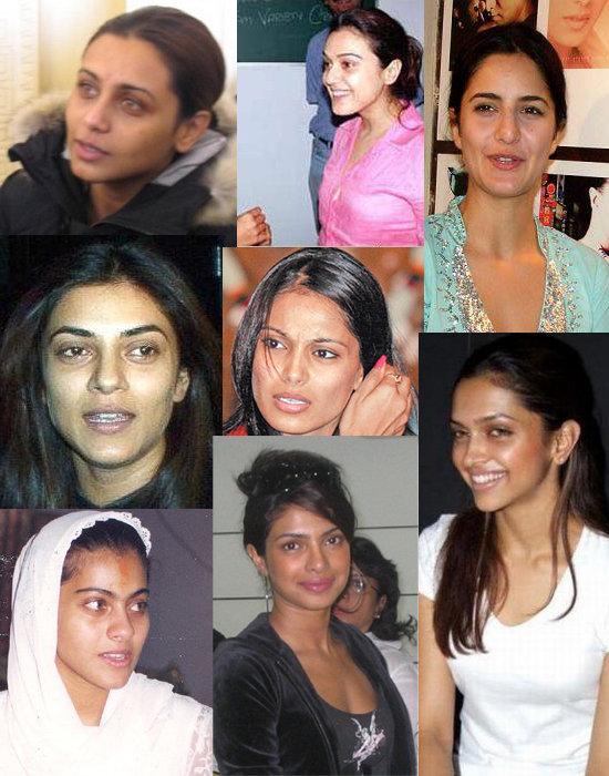 Which actress looks good without makeup