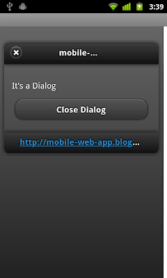 jQuery Mobile: Manually close dialog using JavaScript code