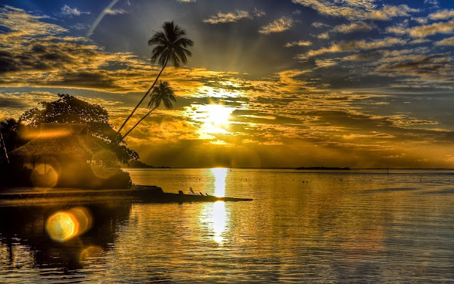 Sunrise Beach Tropical