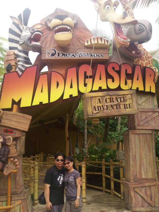 Universal Studios Singapore Madagascar