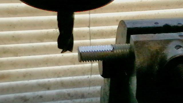 milling flats on threaded rod