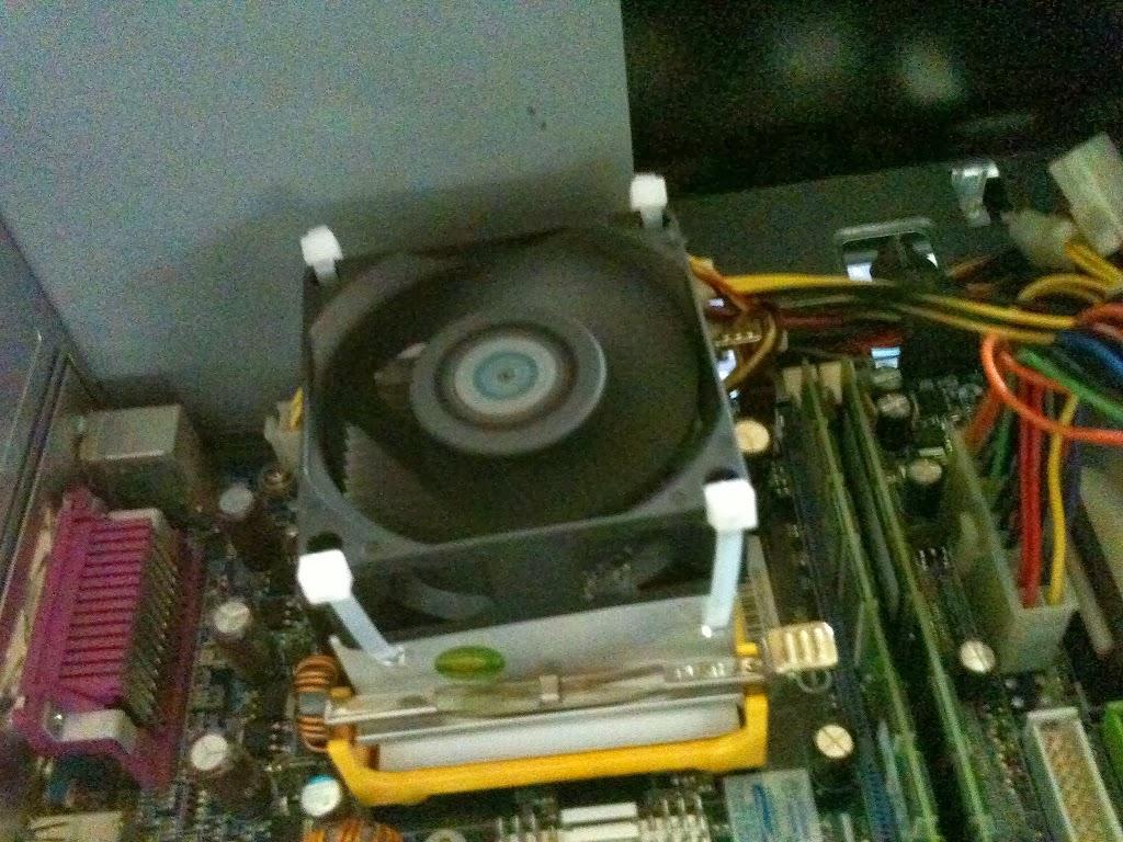fixar cooler processador cinta plastica