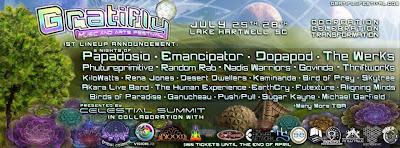 Gratifly Festival Lineup