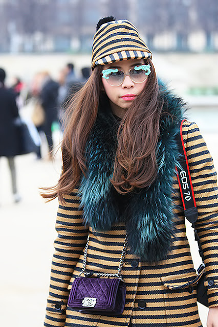 Paris fashion week street