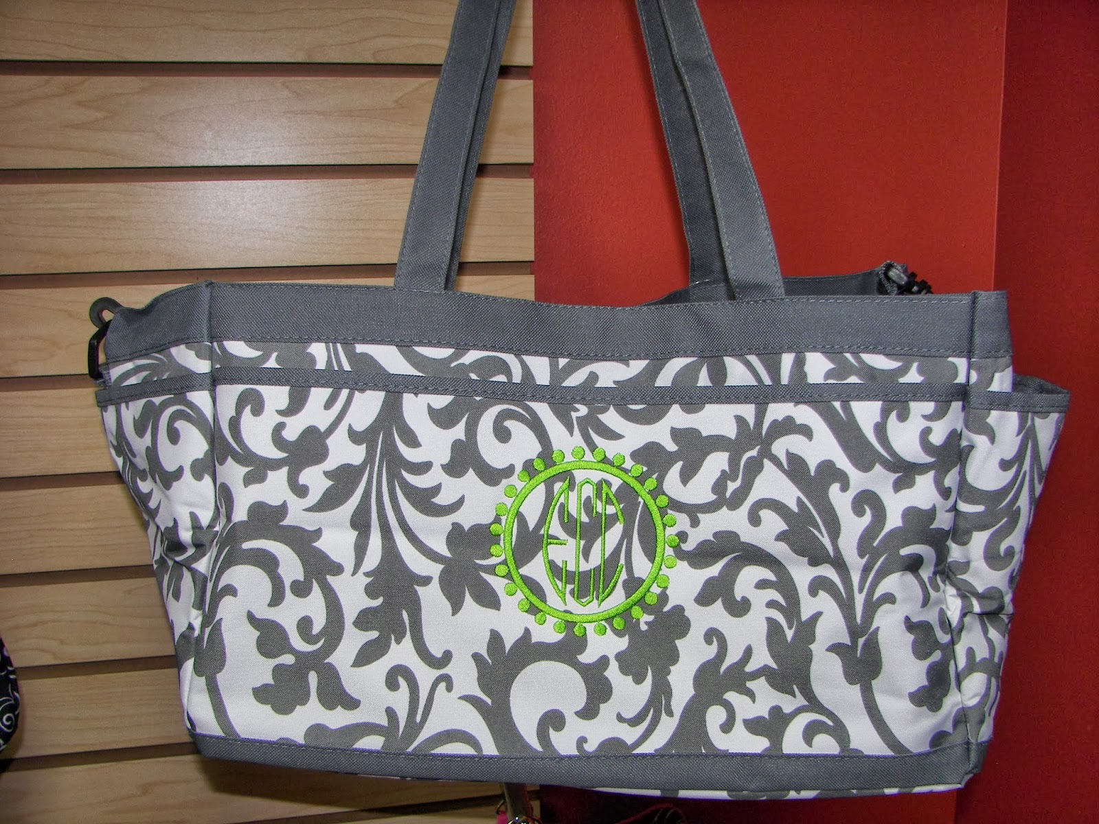 Show me logos monogrammed bags make creative gifts
