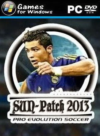 Download Gratis Sun Patch 2014 Terbaru Buat PES 2013 V 3.0
