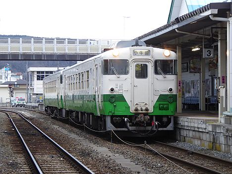 石巻線 ワ小牛田行き キハ48形