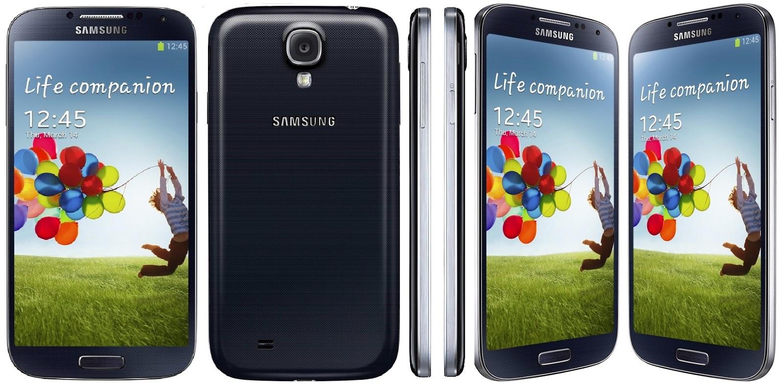 Samsung Galasy - S4 GT-i9502 - Black Mist